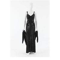 1935 Coco Chanel Gece Elbisesi
