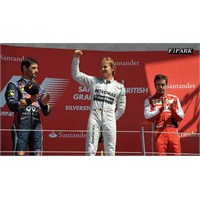 İngiltere Gp'inde Zafer Rosberg'in