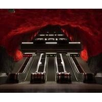 Stockholm Metrosu Dünyanın En Uzun Sanat Sergisi