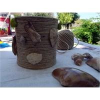 Hobi Köşesi… Resim Çerçevesi Ve Vazo Yapımı