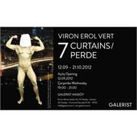 Viron Vert'tin 7 Perde Adlı Sergisi Galerist'te