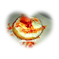 Küçük Ekmek Üzerinde Kıymalı Çılbır