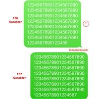 İphone'da 156 Karakter Sms Gönderememe Sorunu!
