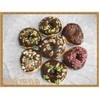 Enfes Çikolatalı Donut