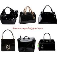 Siyah Rugan Çantalar