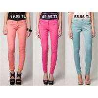 Bu Yazın Trendi: Renkli Pantolonlar