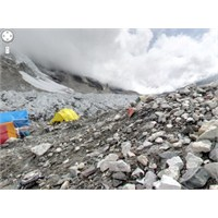 Everest Dağı Google Maps'te