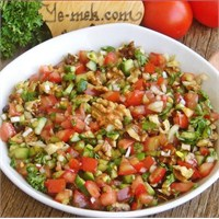 Gavurdağı Salatası (Resimli Anlatım)