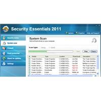 Sahte Security Essentials 2011 Yazılımını Kaldırma