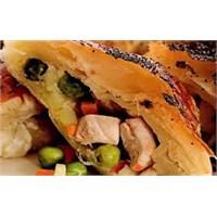 Tavuk Ve Sebzeli Talaş Böreği Tarifi