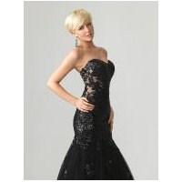 Siyah Tül Elbise Modelleri – Tül Abiye Elbise Mode
