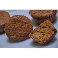 Havuçlu Muffin Kek