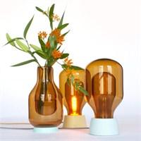 Derksen'den Dewar Glassware Vazo Ve Masa Lambası