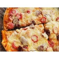 Evde Puf Pizza Yapımı