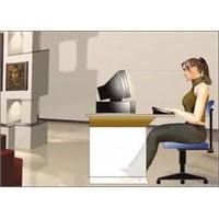 Bilgisayar başında oturuşa dikkat!