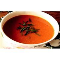 Köz Biber Ve Patlıcan Çorba