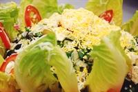 Peynirli Zeytinli Yaz Salatası
