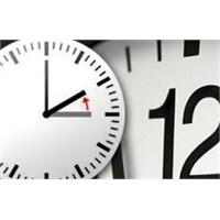 28 Ekim 'de Saatler Geri Alınıyor