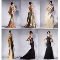 Sırt Dekolteli Abiye Elbise Modelleri 2012