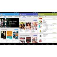 Yeni Google Play 4.0'dan Görüntüler Var