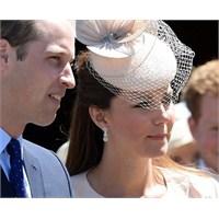 Kate Middleton: Jenny Packham Nude Manto Ve Elbise