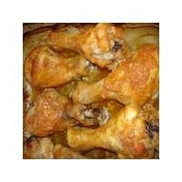 Fırında Tavuk Soslu