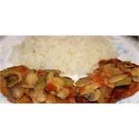 Sebze & Mantarlı Biftek