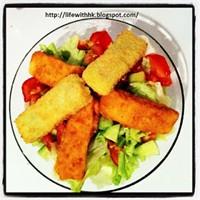 Öğrenci İşi Yemek Tarifleri: Kolay Ama Şık Salata