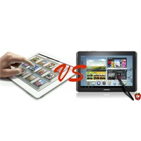 Yeni İpad Vs Galaxy Note 10.1