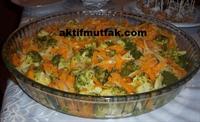 Brokoli Salatası(havuçlu)