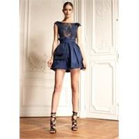 Renkli Dantel Elbise Modelleri
