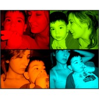 Pop-art Me And My Baby