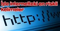 İşte İnternetteki En Riskli Kelimeler!