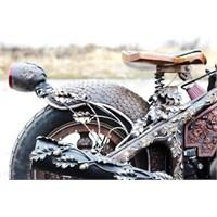 Ahşap Oyma Motosiklet