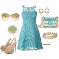 Renkli Elbise Kombinleri