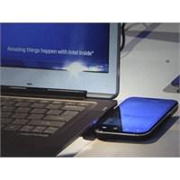 Ultrabooklara Kablosuz Şarj Özelliği
