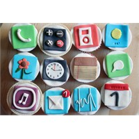 İphone Cupcakeleri