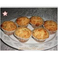 Keçi Peynirli Dereotlu Muffinler