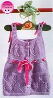 Bebek Randa Elbise Modeli (şemalı)