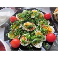 Haşlanmış Yumurta Salatası