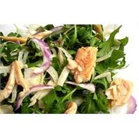 Salatalar..Alabalık Füme Salatası