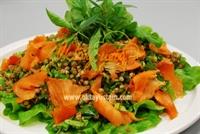 Buğdaylı Somon Salatası