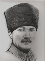 Atatürk ün Karakalem Portreleri