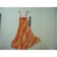 Pareo Askılı Elbise