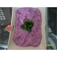 Gurme Mor Lahana Salatası