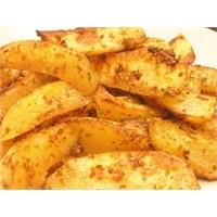 Fırında Susamlı Patates Tarifi