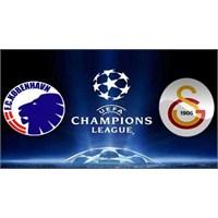 Kopenhag- Galatasaray Şampiyonlar Ligi Özet