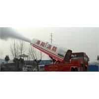 Jet Motorlu Yangın Söndürme Aracı