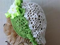 Yeni Örgü Bebek Şapka Modelleri