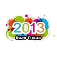 2013 'de Ne Kadar Tatil Yapacağız